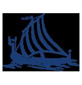 Wikingerschiff der Wiking Gruppe